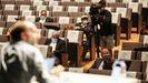 Pleno extraordinario de Ourense en el que Jácome se sometió a una cuestión de confianza para sacar adelante una modificación presupuestaria