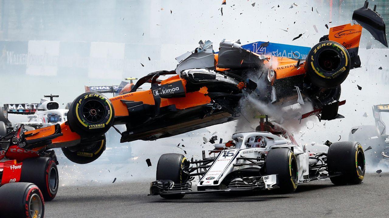 El vuelo del coche de Fernando Alonso.Ben Harper en el escenario del festival Rototom 2018