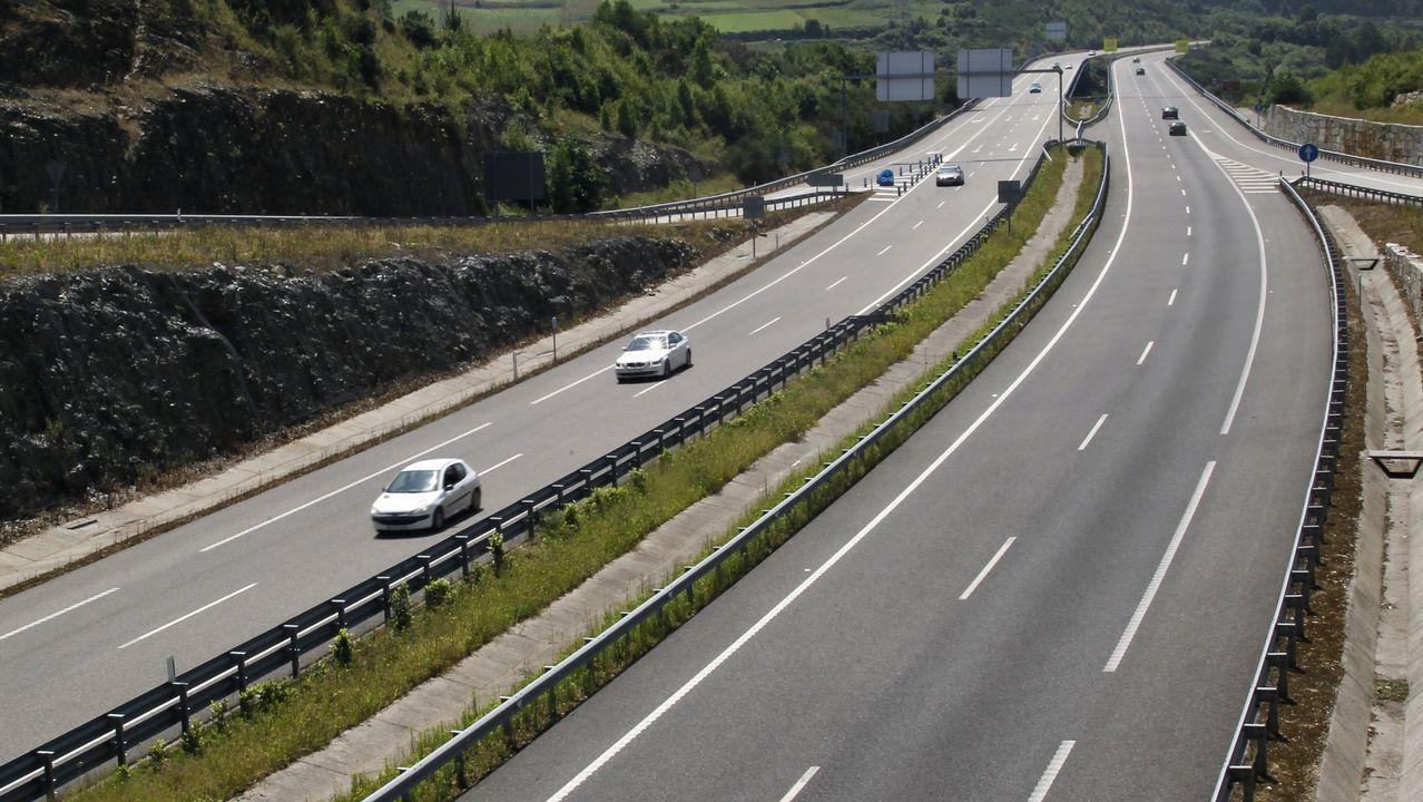 La autovía del Cantábrico, una de las infraestructuras que contribuyeron a vertebrar el noroeste