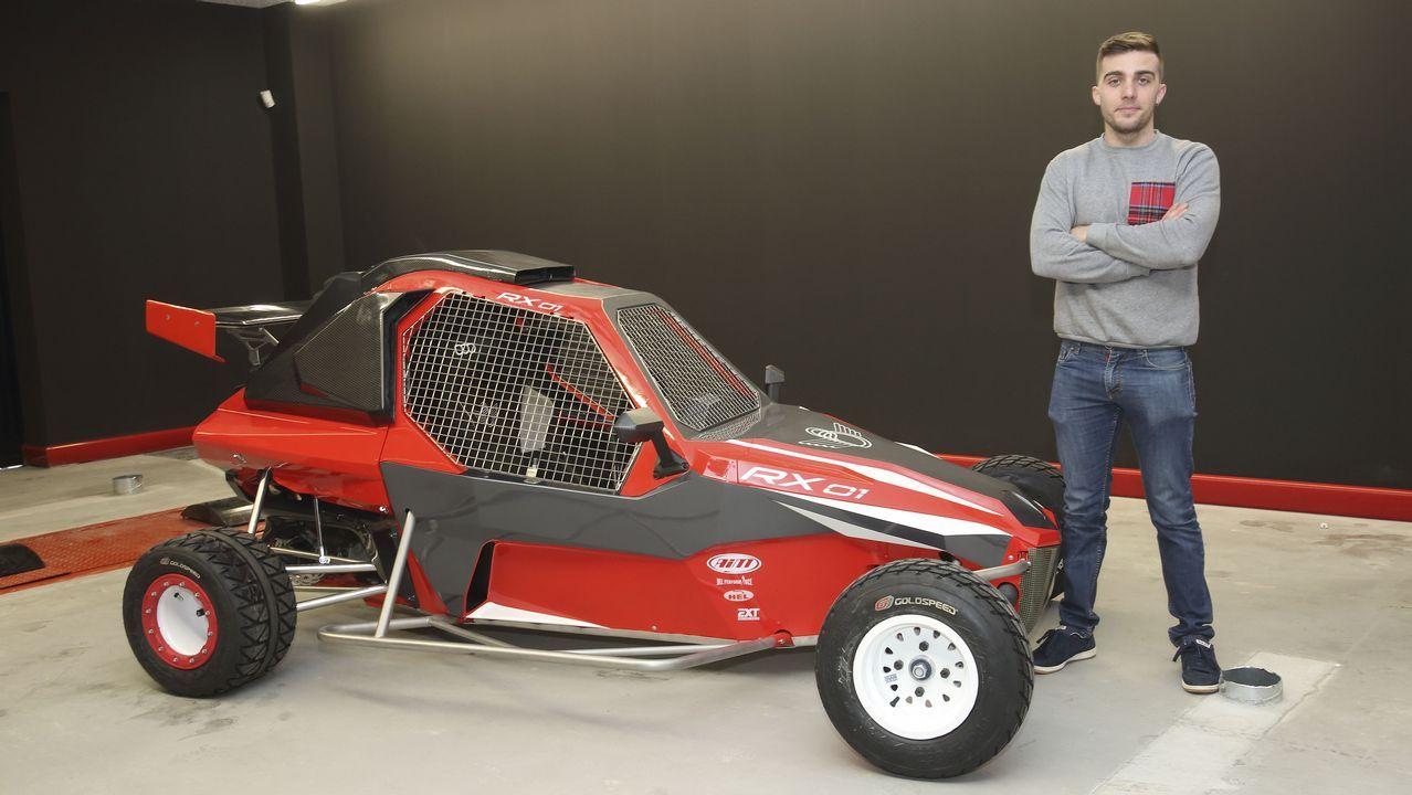 El flamante RX01, un innovador carcrós diseñado y producido en Carballo