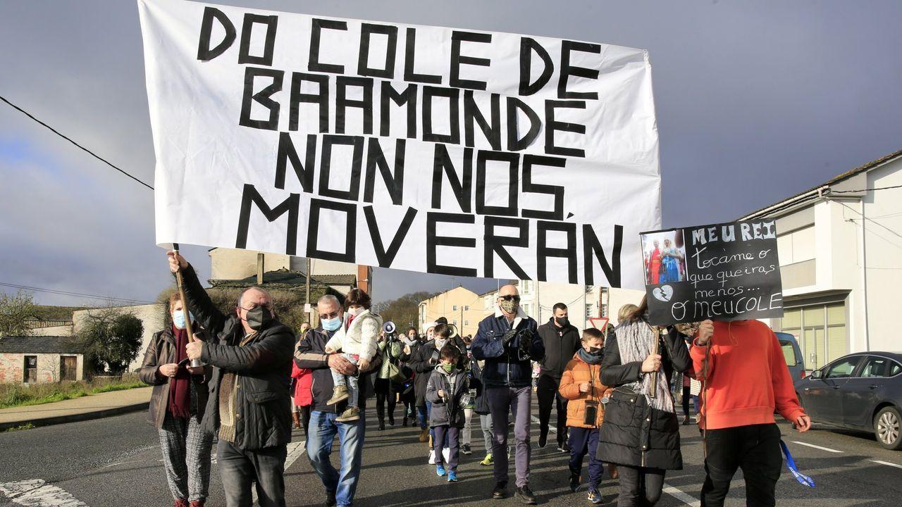 El domingo 21 tuvo lugar una nueva protesta en Baamonde contra el cierre del colegio.En Baamonde se han celebrado varios actos de protesta contra el cierre del colegio