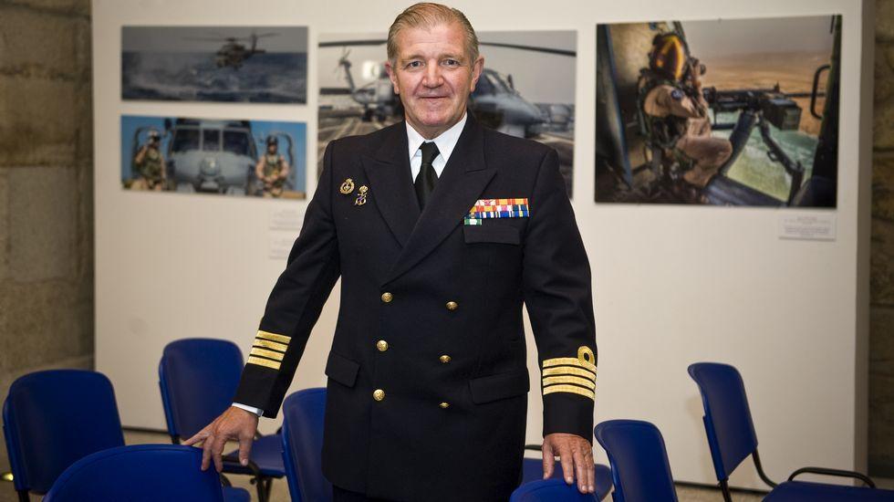 El comandante de la Fuerza de Acción Marítima en Ferrol ofreció su conferencia en Exponav