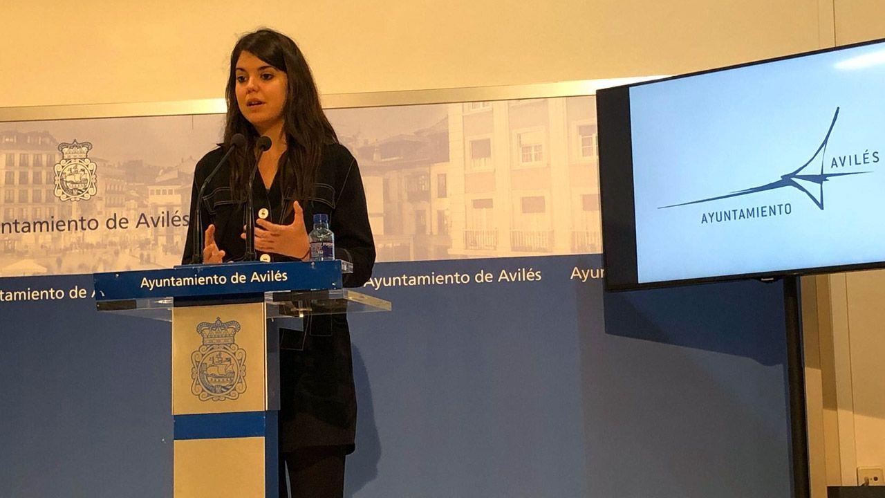 La concejala de Hacienda de Avilés, Raquel Ruiz
