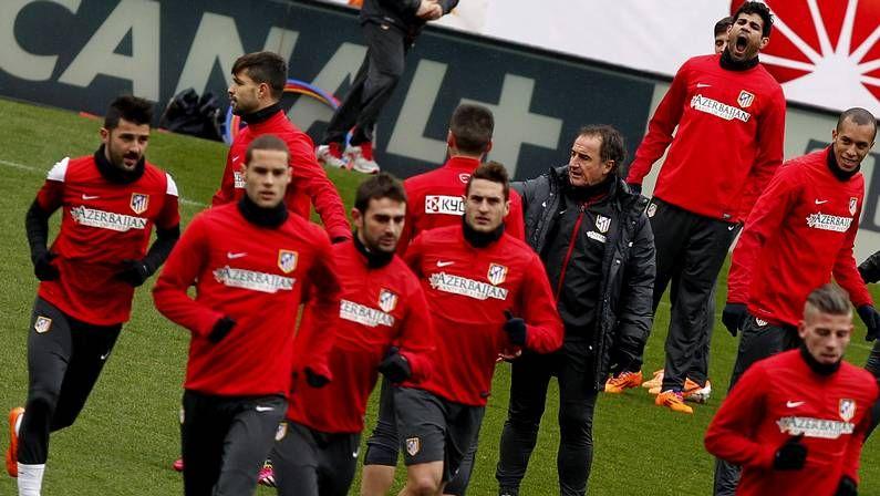 Simeone prevé un Atlético-Milan «duro y difícil»
