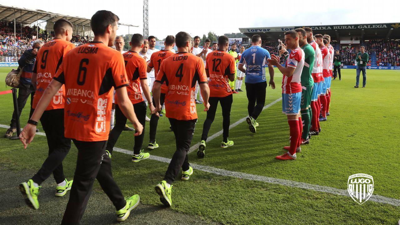 Carlos Hernandez Guillermo Christian Fernandez Barcenas Jimmy Tejera Real Oviedo Numancia Carlos Tartiere.Los jugadores del Oviedo celebran el 1-0 al Numancia