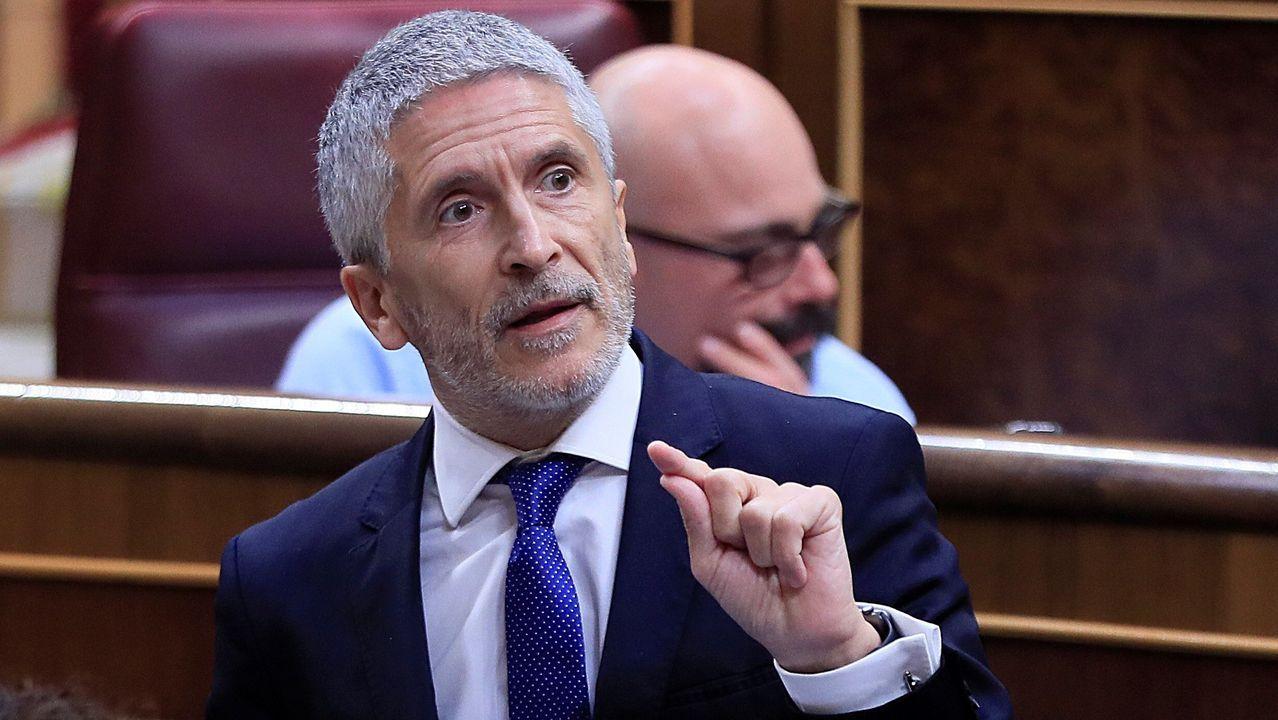 El ministro del Interior, Fernando Grande-Marlaska, en una foto de archivo
