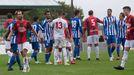 Imagen del Vilalbés-Deportivo de la pretemporada pasada