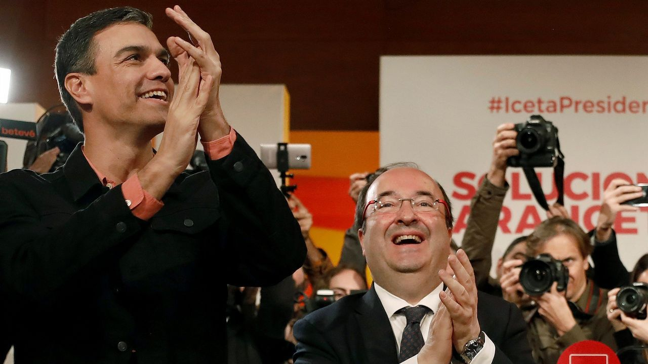 Alberto Núñez Feijoo y Javier Fernández