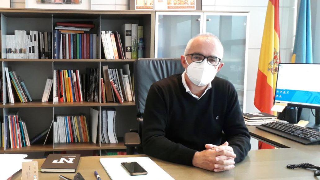 Antón García, director xeneral de Política Llingüística