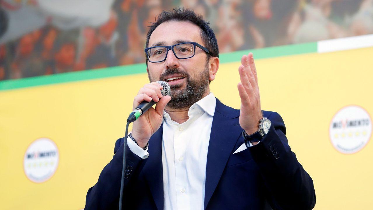 El ministro de Justicia italiano, Alfonso Bonafede