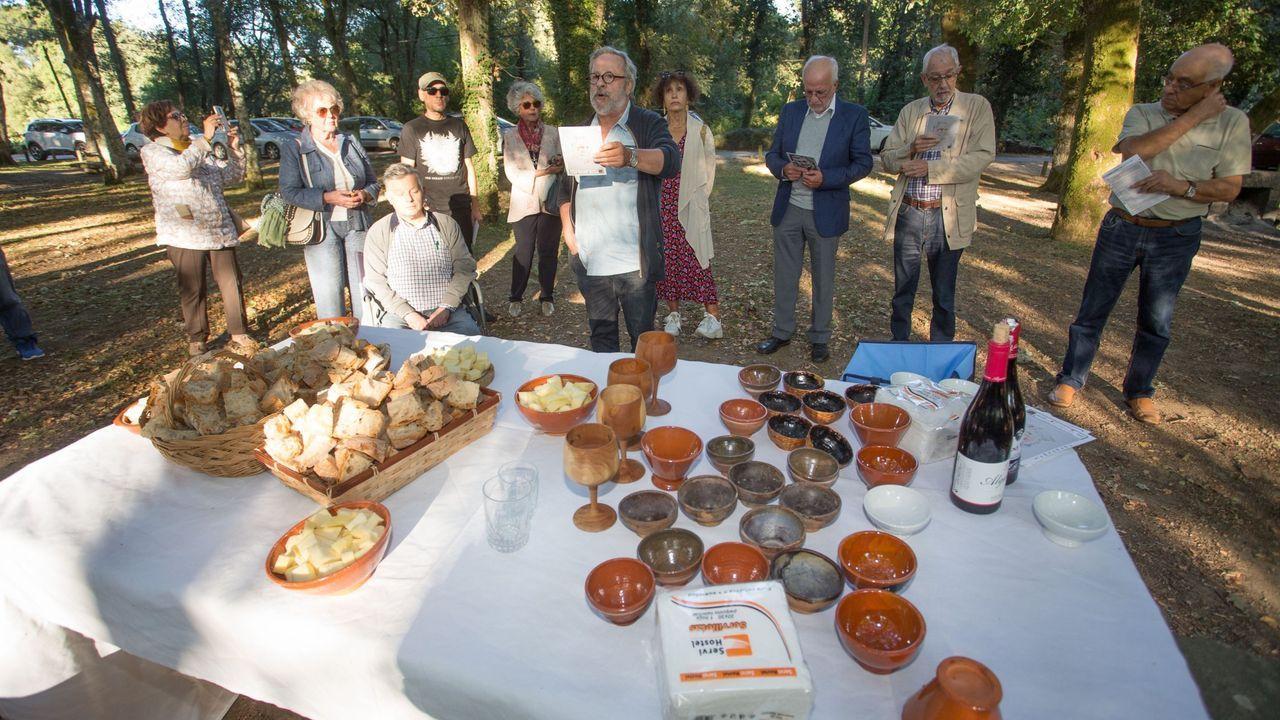 Homenaxe a Manuel María do 2019, con merenda en Santa Isabel