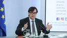 Salvador Illa comparece tras su último Consejo de Ministros