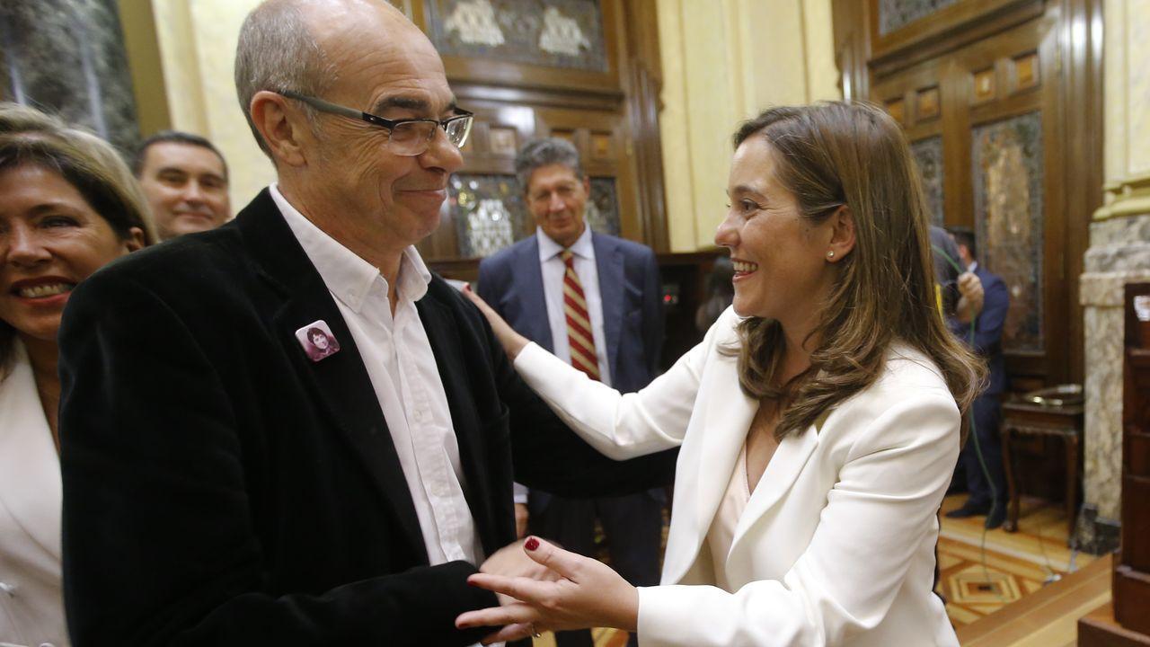 Torre de Hércules.Ángel Mato, actual alcalde de Ferrol por el PSOE