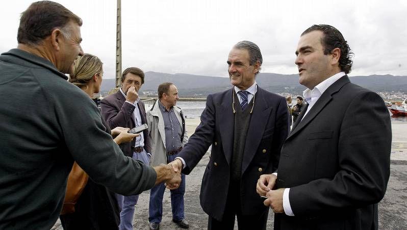 Feijoo llega a la sede del PP.Feijoo, Pachi Vázquez, Jorquera y Beiras en la jornada de reflexión