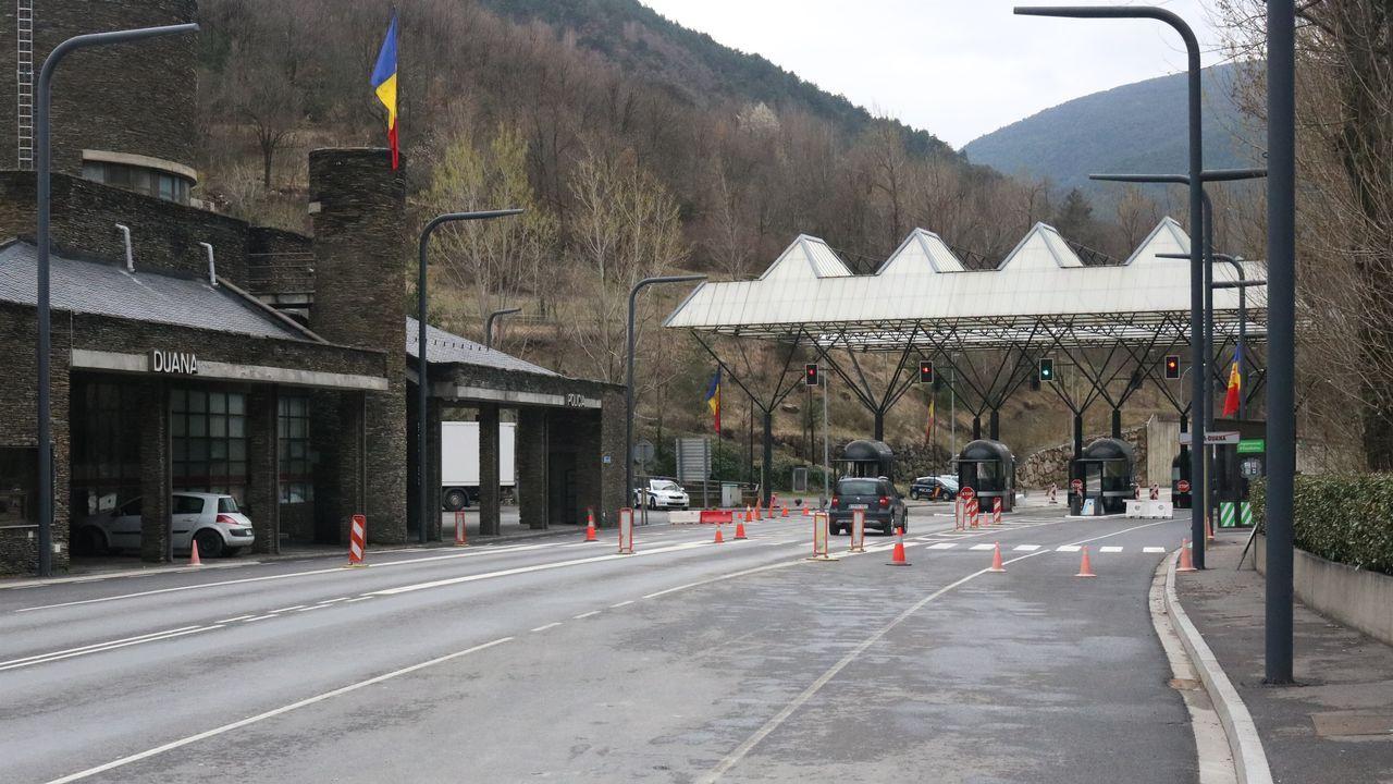 Frontera entre Andorra y España