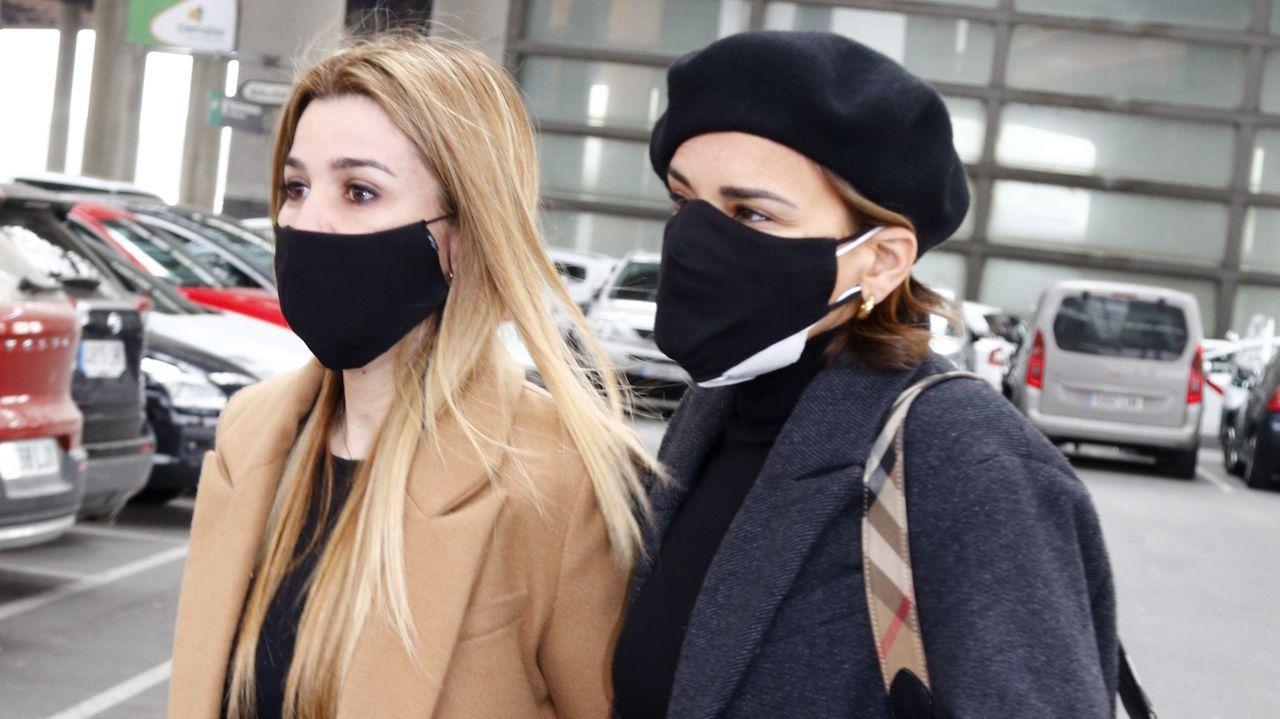 Chenoa y Natalia, en Atocha, destrozadas