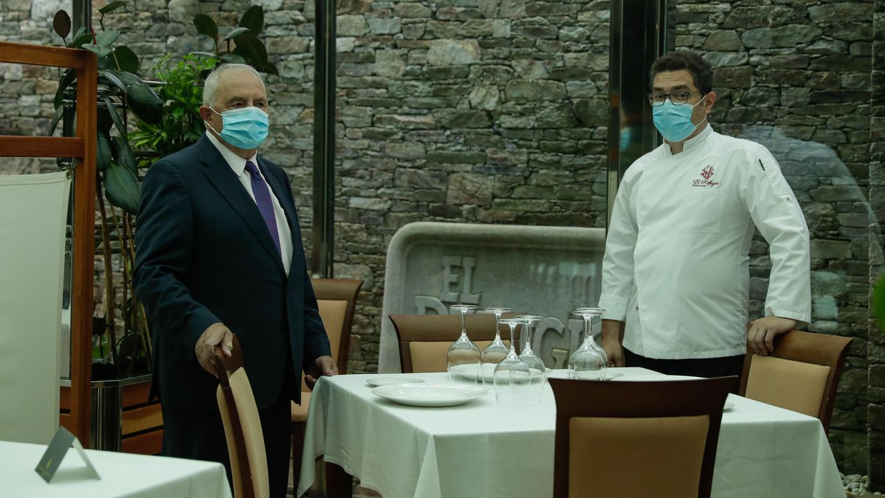 Playasen la provincia deA Coruña.Los restaurantes toman medidas de precaución para evitar riesgos