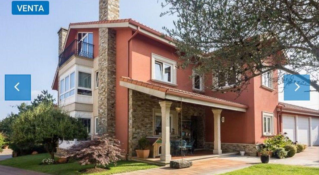 «Esa casa a la venta, ¿me la puede alquilar?». Casas a la venta como esta de Bastiagueiro (830.000 euros) han sido reclamadas para pasar el verano