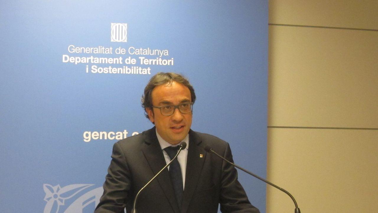 Josep Rull. Exconsejero de Territorio, está acusado de un delito de rebelión agravada con malversación.