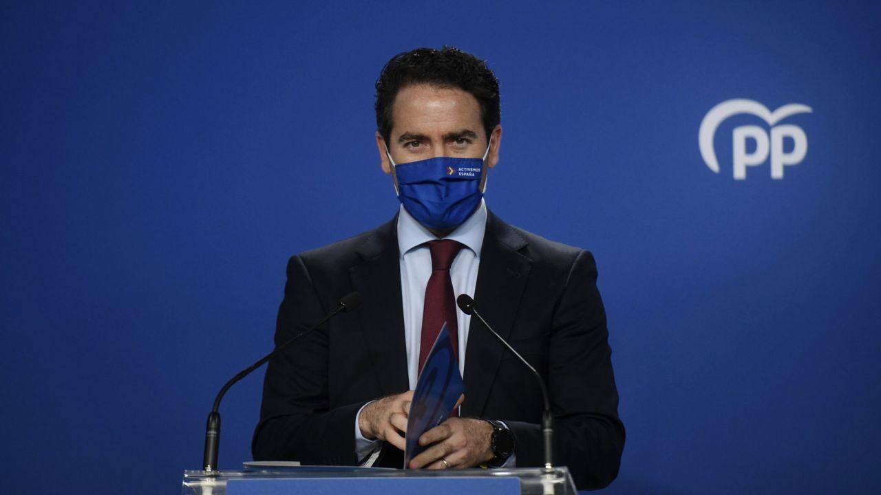 Teodoro Garcia Egea ha sido uno de los cargos populares críticos con el pacto alcanzado