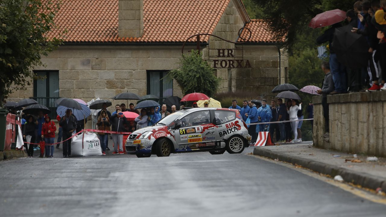 Rali Ourense Lugo Ribeira Sacra.La tercera especial Vilanova - Luíntra ha estado muy animada y ha dejado espectaculares imágenes