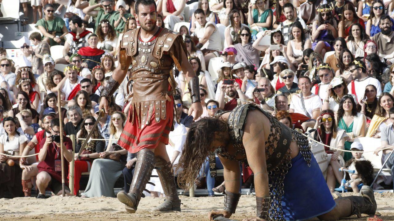 Circo Romano y desfile de Arde Lucus 2018