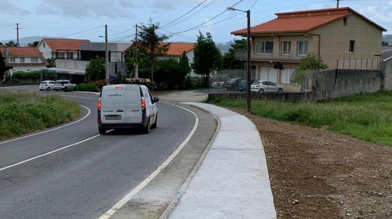 El Camino de Santiago sin gente ni albergues.Rafael González, de la pulpeira A Nova Lanchiña