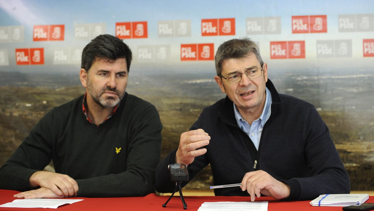 Muñoz abronca al gobierno de Caballero por las cuentas de Vigo.Seminario de Oviedo