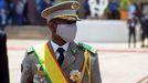 El coronel Assimi Goita, líder de dos golpes militares, llegó al poder de Mali en junio.