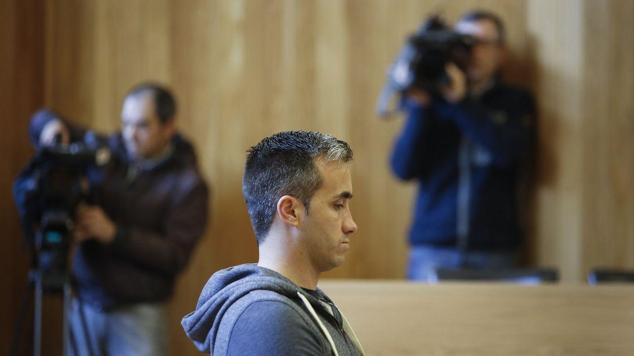 El juicio a Timiraos, en foto de archivo, tuvo lugar en la Audiencia de A Coruña