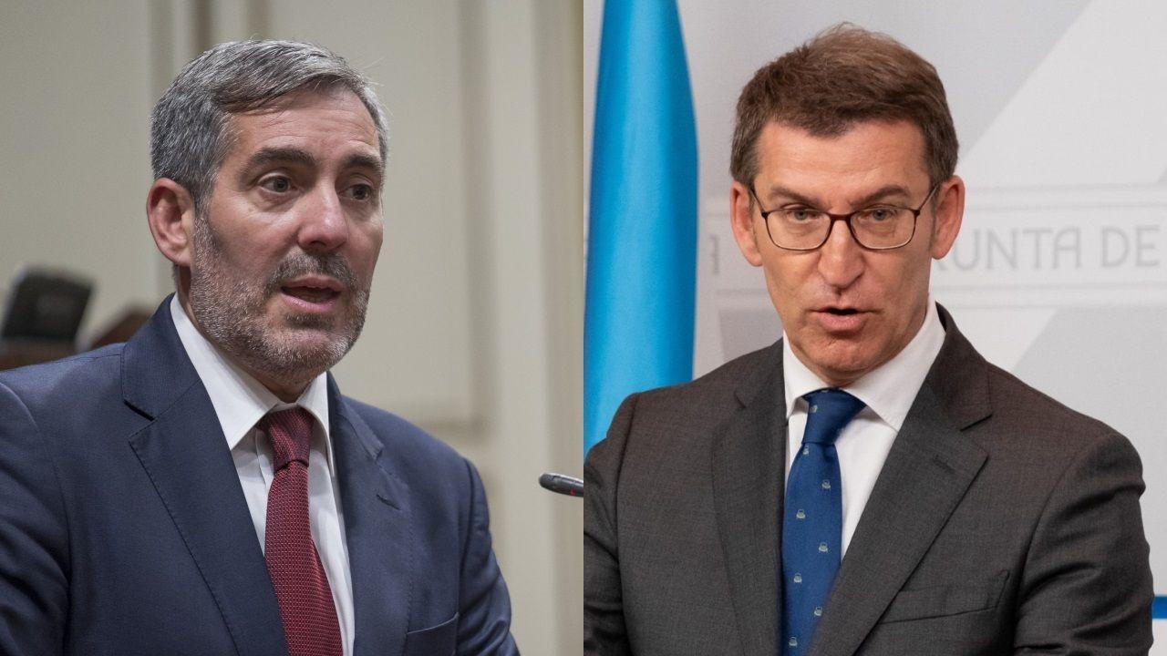 Núñez Feijoo y Fernando Clavijo harán frente común para reclamar al Gobierno el la liberación del superávit