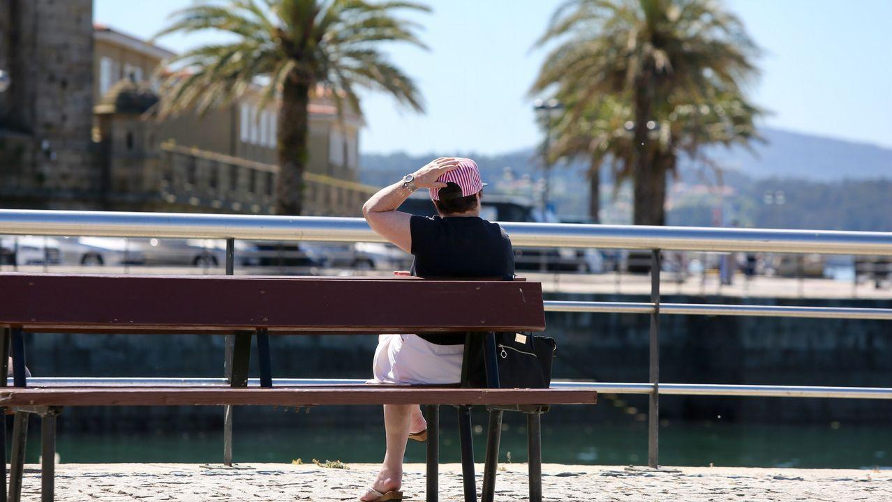 Calor en Ferrol