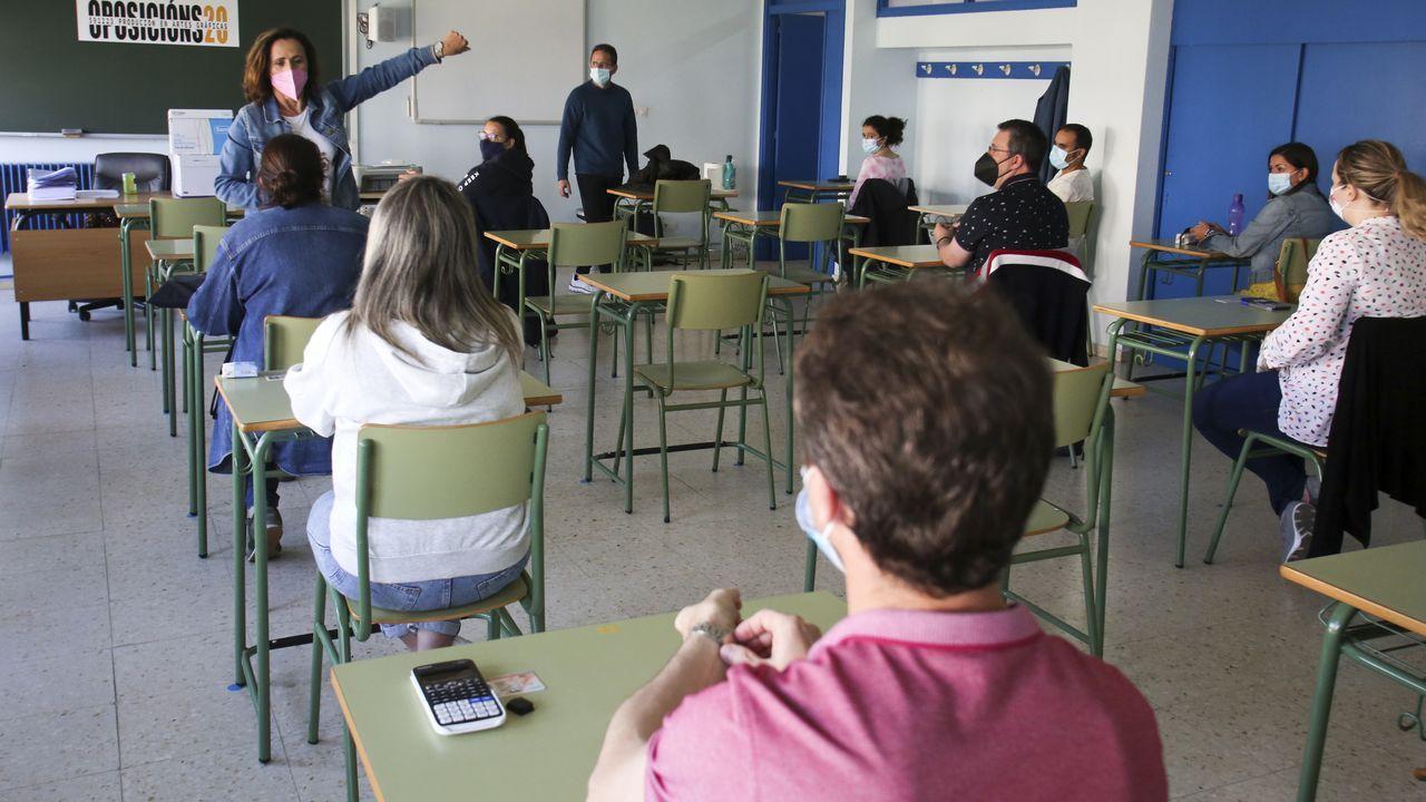 El Rali Cidade de Narón debuta en la Copa de España de Ralis de Asfalto.Oposición para docentes en el Leixa