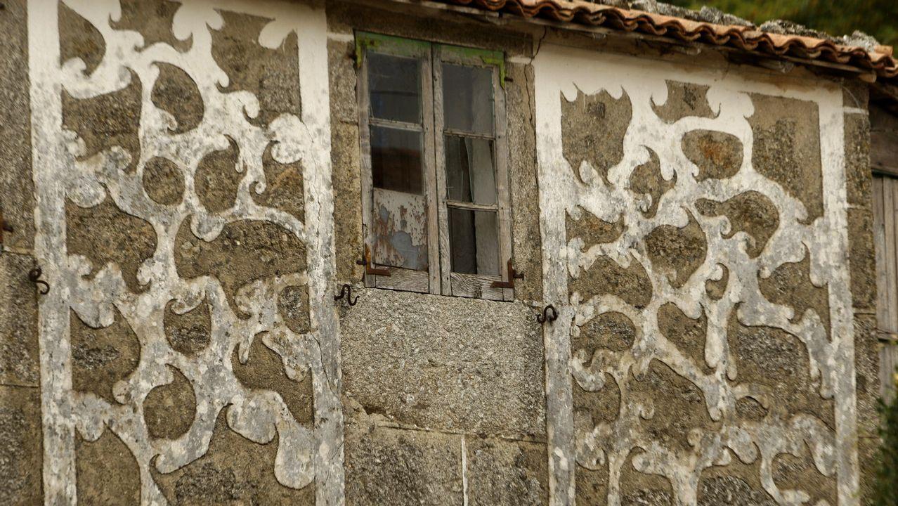 Una antigua vivienda de la aldea de Rabelas, en la parroquia de San Xoán da Veiga, del municipio de Chantada