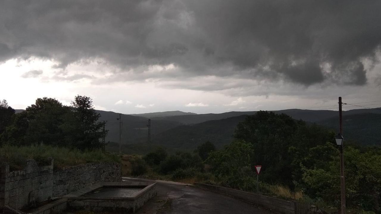 Ola de calor en Europa.Ola de calor en Asturias