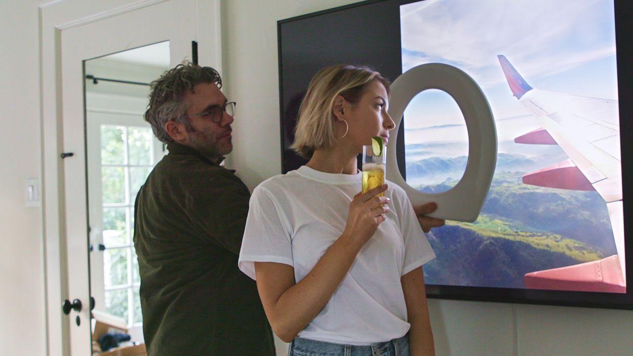 Nick Bilton prepara una foto trucada con Dominique Druckman.