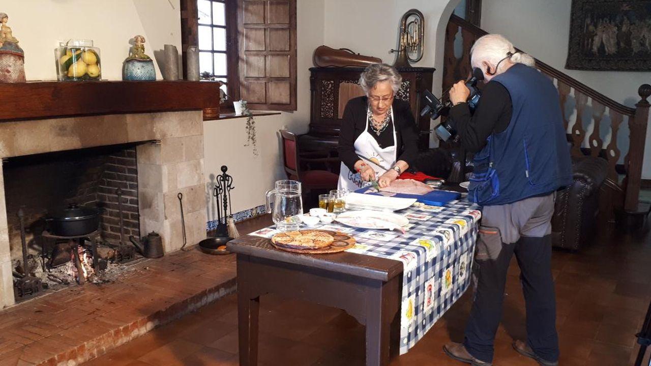 Oviedose convierte en la capital de España de la Infancia.Grabación del programa Fogones Tradicionales