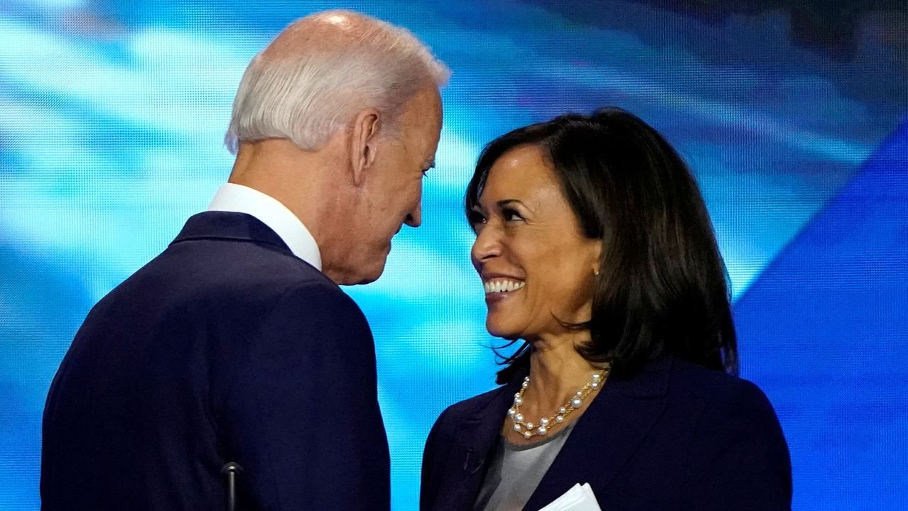 Biden escoge a Kamala Harris como aspirante a la vicepresidencia ...