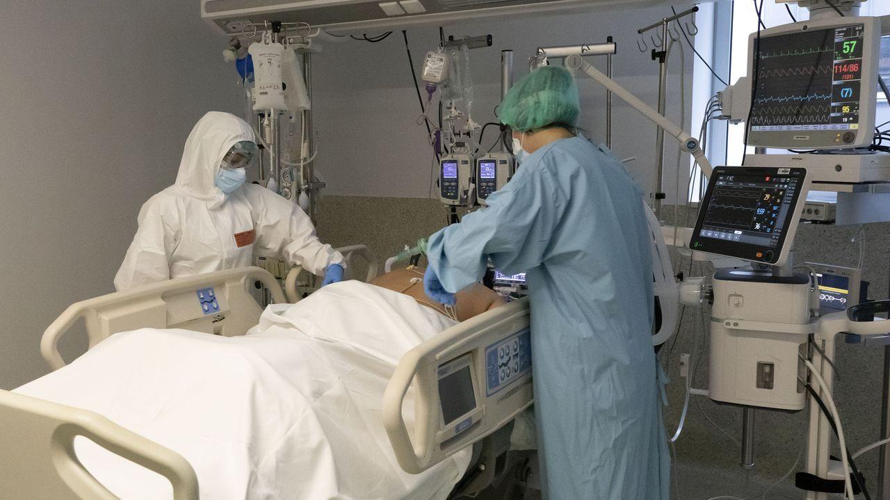 En la uci del HULA hay 21 pacientes con coronavirus