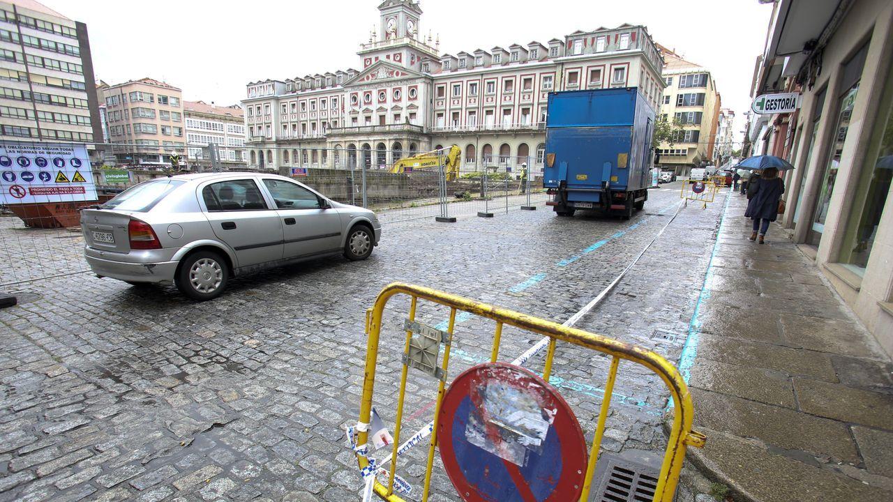 Imagen del segundo accidente, originado en las retenciones derivadas del primero
