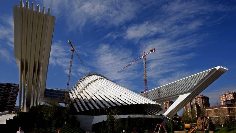 Desprendimientos en el Palau de les Arts.Captura de la web calatravatelaclava.com