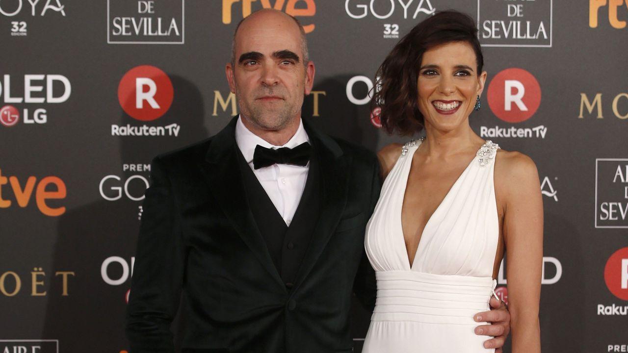 Maria Botto.El actor gallego Luis Tosar junto a su pareja María Luisa Mayol.