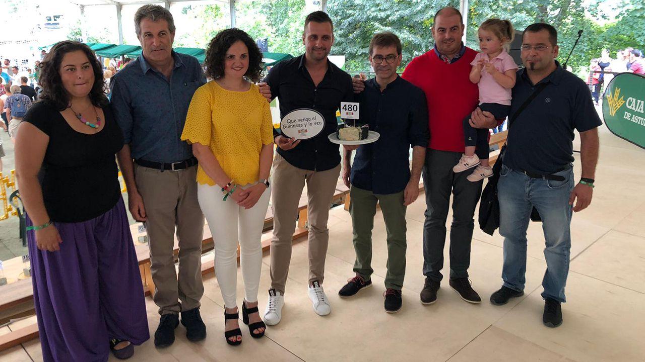 El Llagar de Colloto paga 20.500 euros por el mejor queso Cabrales del año