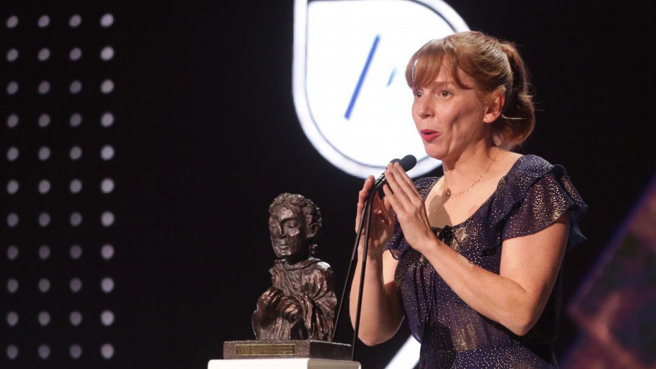 Mellor actriz, María Vázquez, por «Trote»