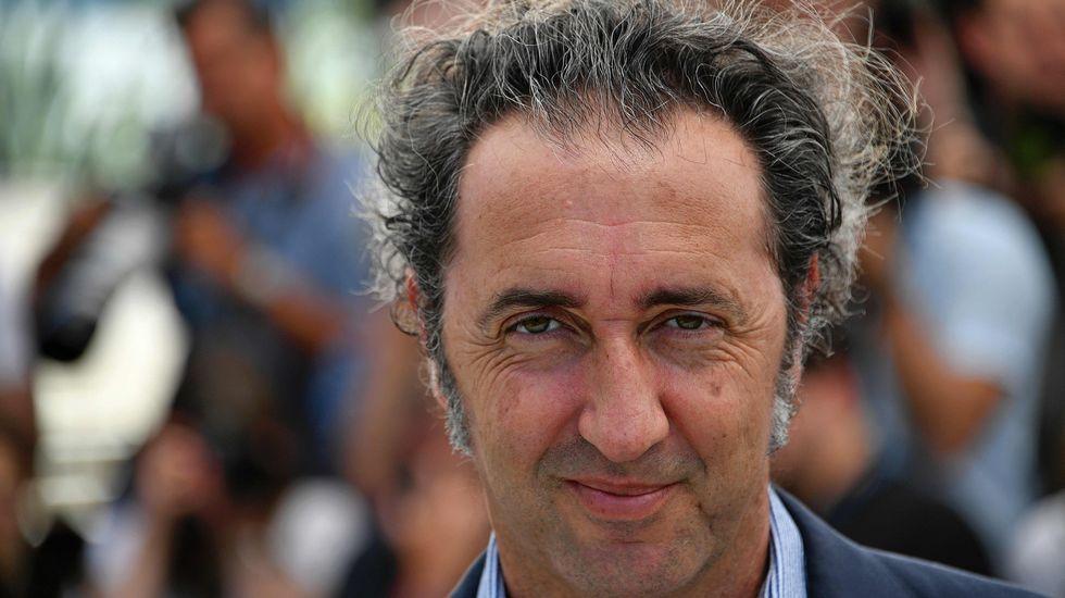 El director italiano y miembro del jurado Paolo Sorrentino