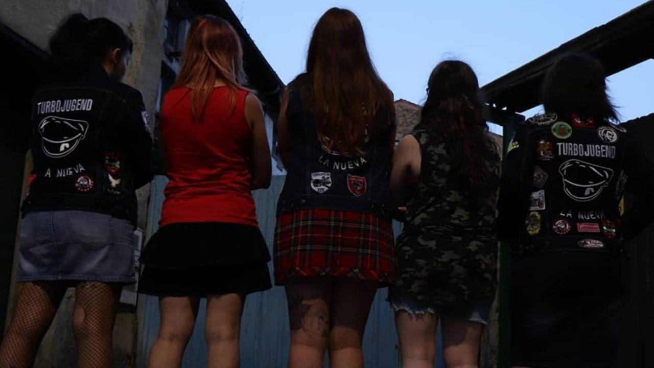 convocatoria entrenamiento Requexon Real Oviedo.El grupo femenino The Brassieres era uno de los que iban a participar en el concierto solidario de Arroes