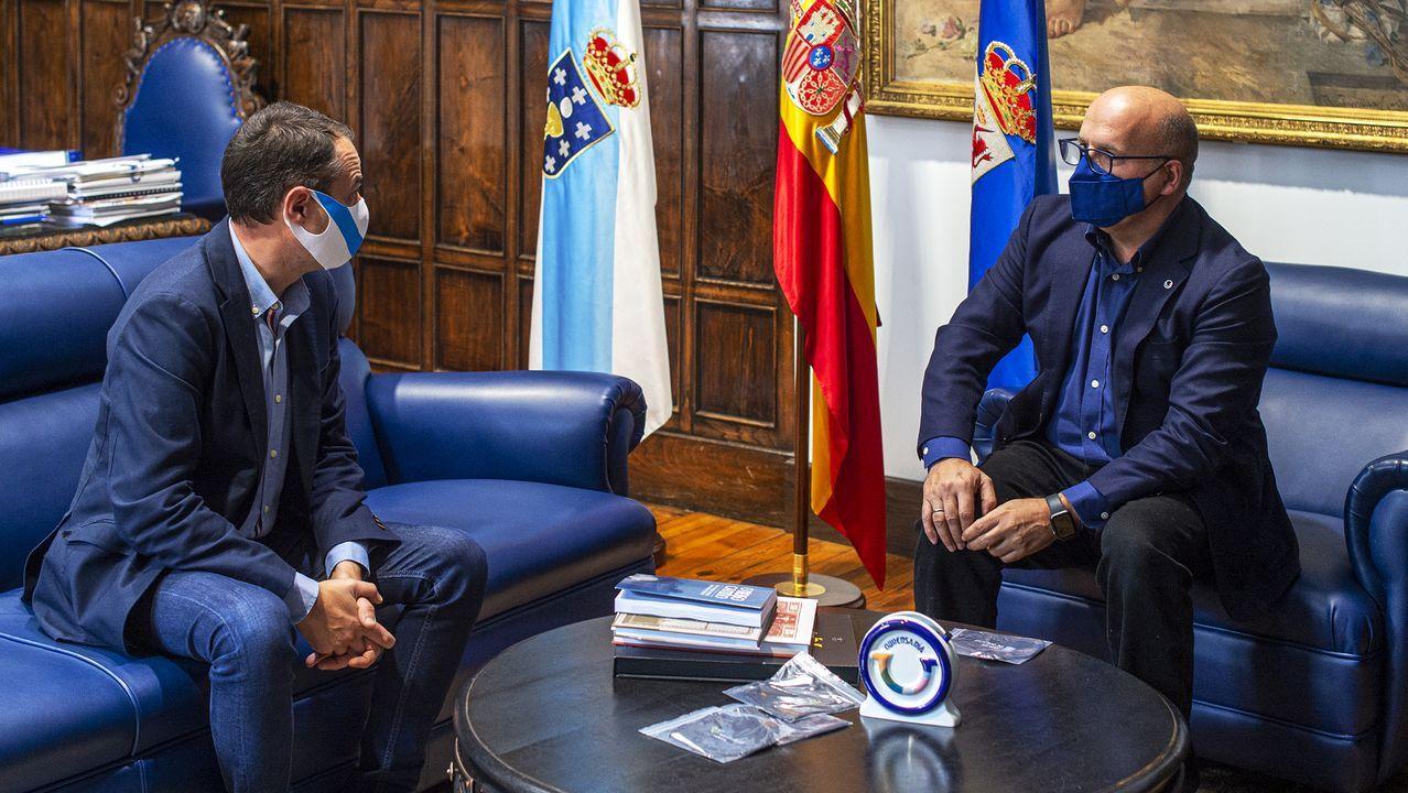 Reunión de los presidentes de la DO Ribeiro y la Diputación de Ourense