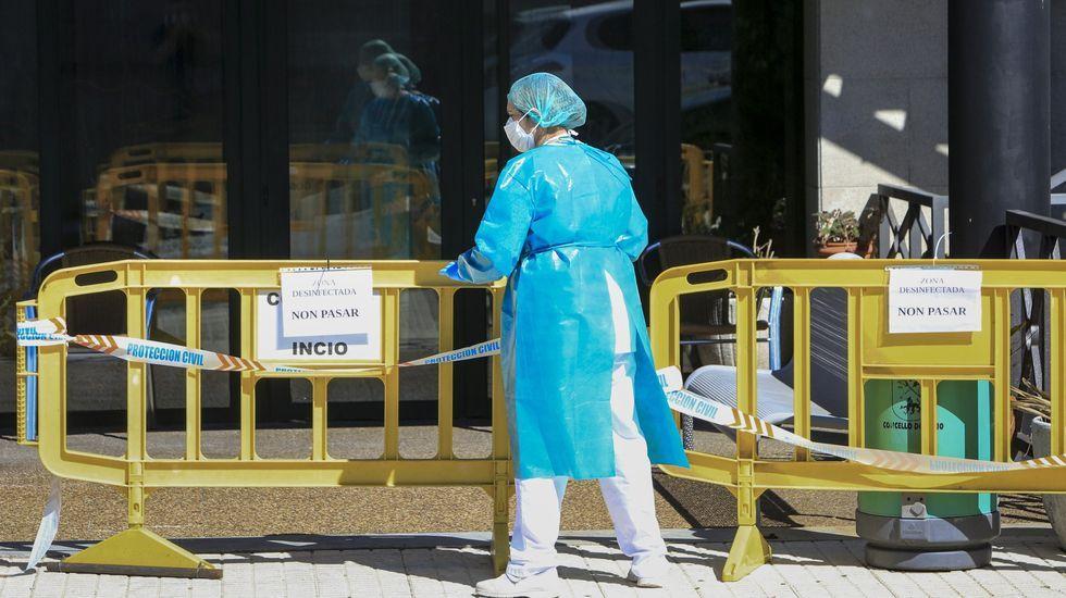 Un total de 127 personas se contagiaron en el brote de covid-19 que empezó a mediados de agosto en la residencia de mayores de O Incio