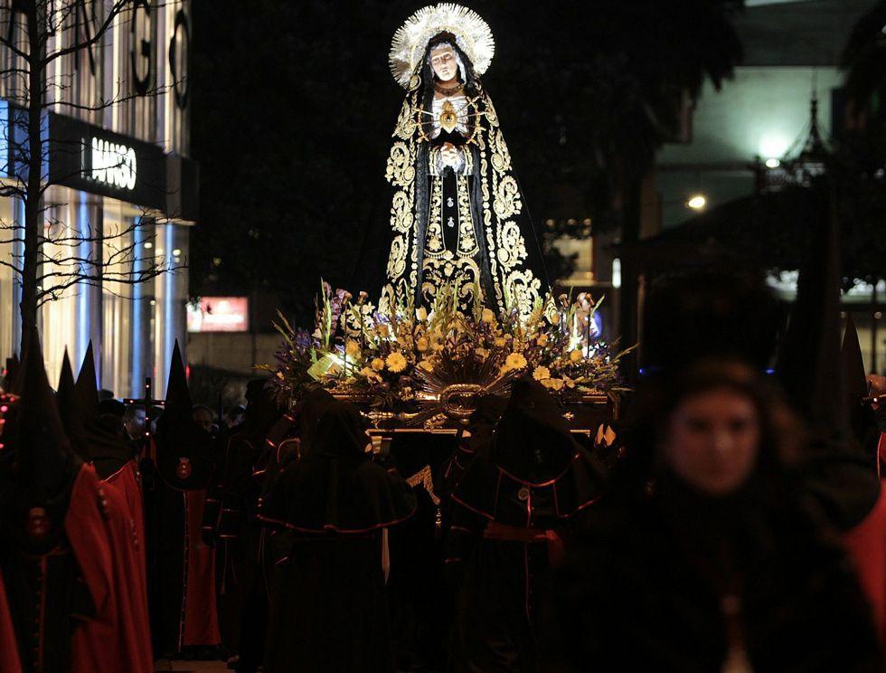 Entierro del párroco Francisco Pallas en Cerqueda