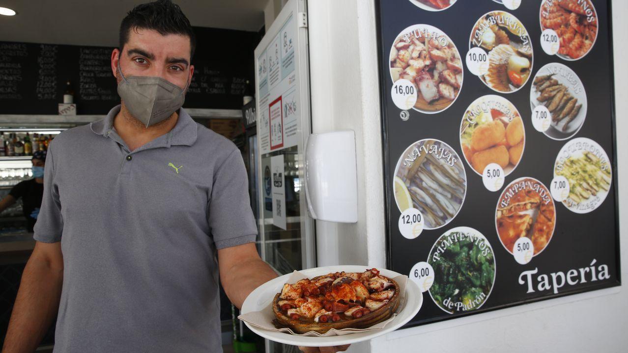 Pescadería que participó en la campaña promocional Súper Peixiño, de Opromar